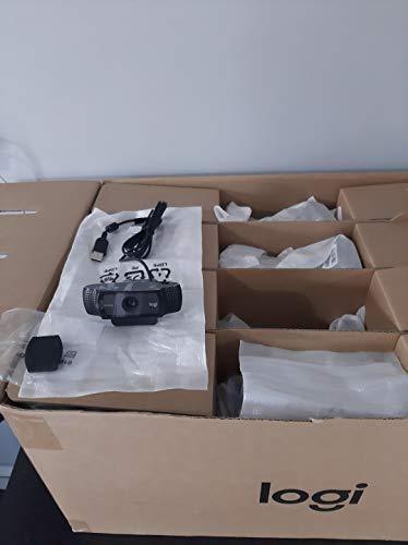 Câmera Videoconferência Webcam Logitech C920 Bulk com tampa de privacidade