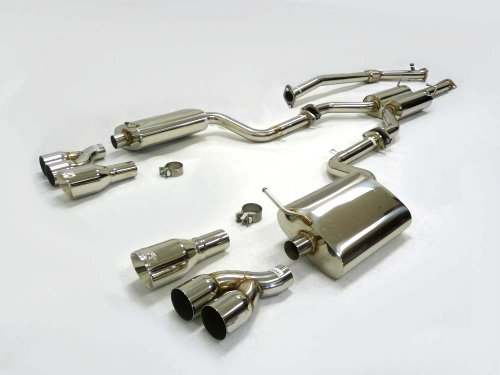 OBX Performance Turbo Catback Exhaust System 06-08 Audi A4 S4 B7 2.0T Quattro A/T ONLY