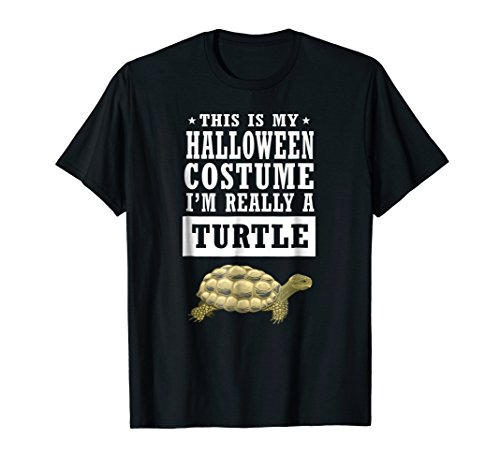 Turtle Halloween Costume T-shirt - This Is My Costume
