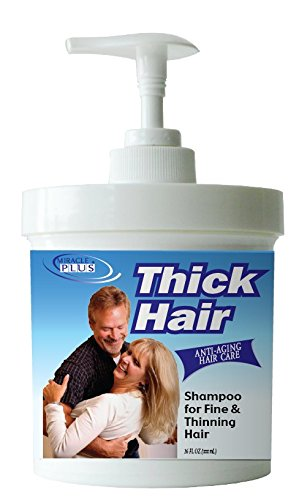 Price comparison product image Miracle Plus Thick Hair Shampoo for Thinning Hair for Men and Women 14oz