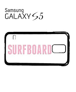 Surfboard Life is a Wave Mobile Cell Phone Case Samsung Galaxy S5 White by mcsharks