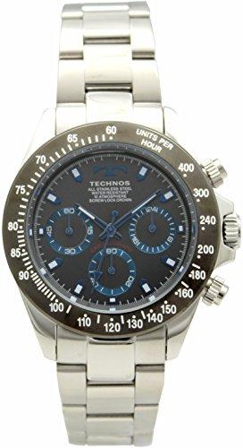 [テクノス]TECHNOS クロノグラフ T4554EN メンズ
