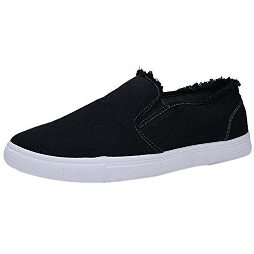 College Focus Throw (Clearance❤️Men Casual Shoes, Neartime Men's College Style Single Shoes Canvas Indoor&Outdoor Small Fresh Student Single Shoes)