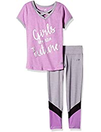 Girls' 2 Piece Knit Top and Legging Set