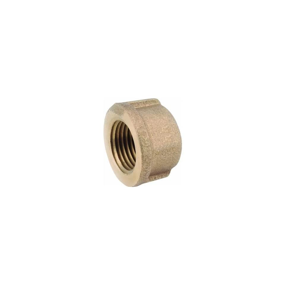 Anderson Metals Corp Inc 38108 06 Red Brass Cap