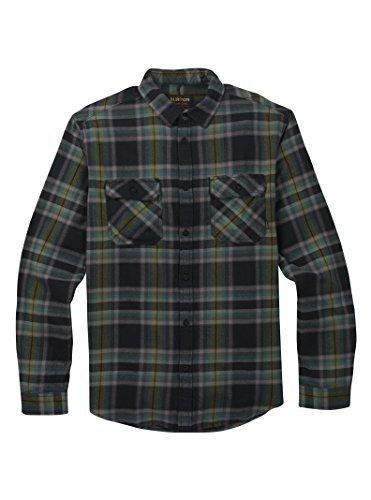 - Burton Men's Brighton Flannel True Black Balsam M