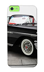 Special Improviselike Skin Case Cover For Iphone 5c, Popular 1958 Chevrolet Impala Convertible Phone Case For New Year's Day's Gift