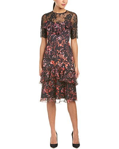 Teri Jon Womens by Rickie Freeman Midi Dress, 4