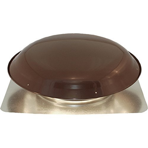 Cool Attic Power Roof Vent - 1080 CFM, Brown Finish, Model# CX1000AMBRUPS by Cool Attic