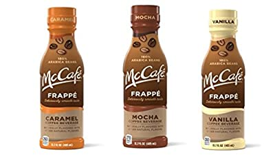 McCafe Frappe Coffee Beverages