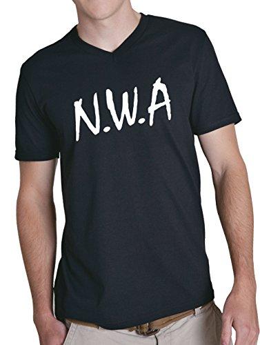 N.W.A. V-Neck Black