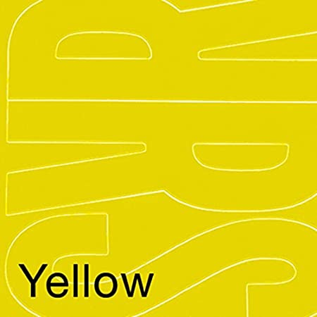 Graphic Products Permanent Adhesive Vinyl Letters (94/pkg), 6', Yellow