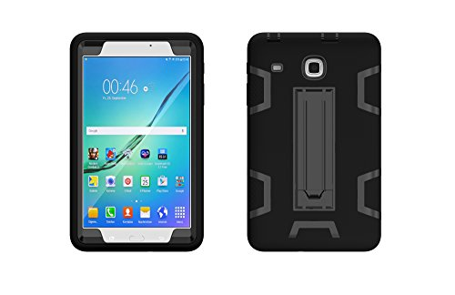 premium selection 0cce9 6ea94 Samsung Galaxy Tab E 8.0 Case, [Heavy Duty] High Impact Hybrid Drop Proof  Armor Defender Protection Case Built Stand Galaxy Tab E 32GB T378/Tab E 8.0  ...