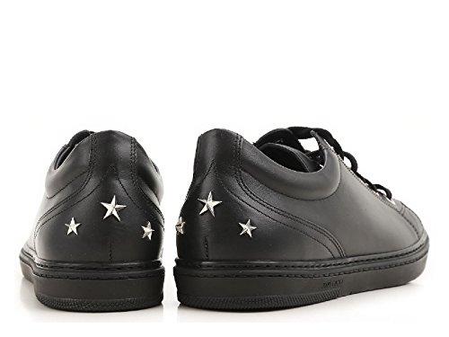 Sneakers Jimmy Leather Black Choo Men's CASHSML174BLACK qTwZpXTn