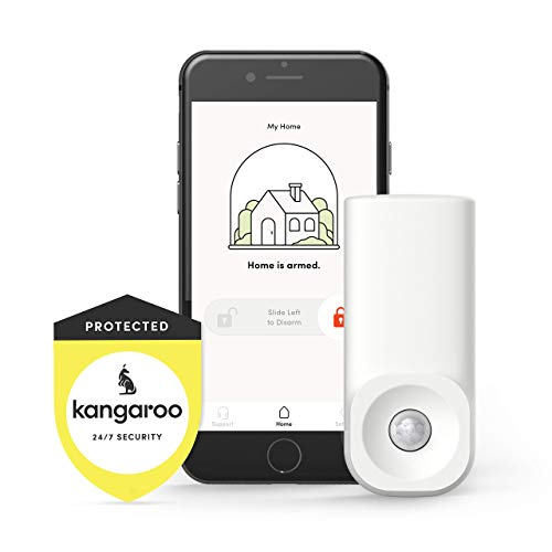 Review Kangaroo Home Security Motion Sensor (1 Pack, Free Plan)