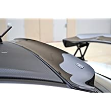 Racingbees 2008 - 2015 Mitsubishi Lancer (All model) Sedan Rear Roof Window Visor 2008 09 10 11 12 13 2014