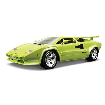 Lamborghini Countach 5000 Quattrovalvole Scale 1 18 Green Amazon