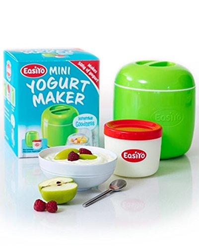Easiyo Compatto Verde Mini Yogurt Maker con il vaso & Istruzioni (500g)