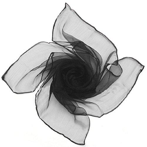 Gilroy Womens Plain Square Chiffon Neck Scarf Hair Head - Shops Gilroy