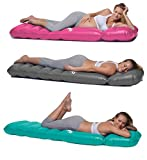 Holo - The Inflatable Maternity Pillow Raft with a Hole to Lie on your Stomach During Pregnancy - Silver