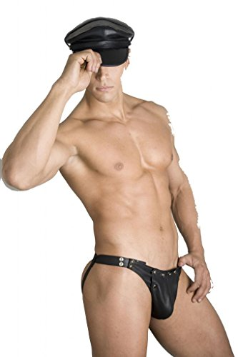 Whip It Leather's Men's Leather Jockstrap 40