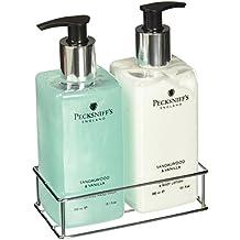 Pecksniffs Sandalwood and Vanilla Hand Wash and Body Lotion Set-10.1 fl.oz