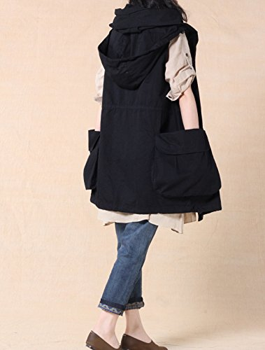 MatchLife - Abrigo - para mujer negro