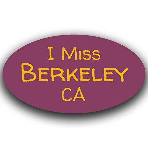 More Shiz I Miss Berkeley California Decal Sticker Travel Car Truck Van Bumper Window Laptop Cup Wall - One 5.5 Inch Decal - MKS0448]()