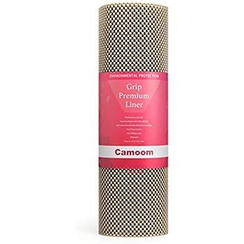 Amazon Com Camoom Non Adhesive Thick Shelf Liner Non
