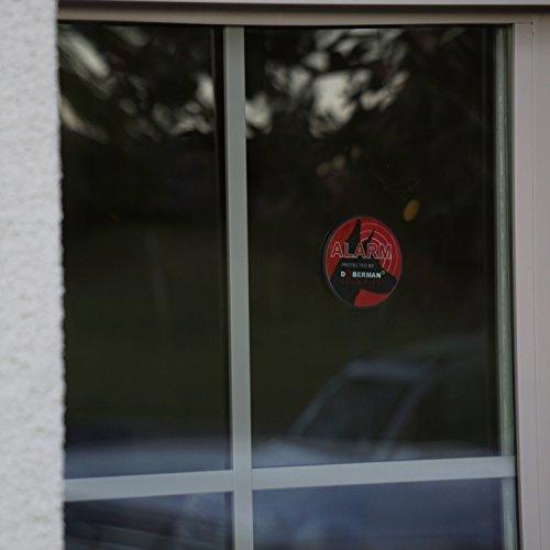 Doberman Security Ultra Slim Window Alarm With Loud 100db