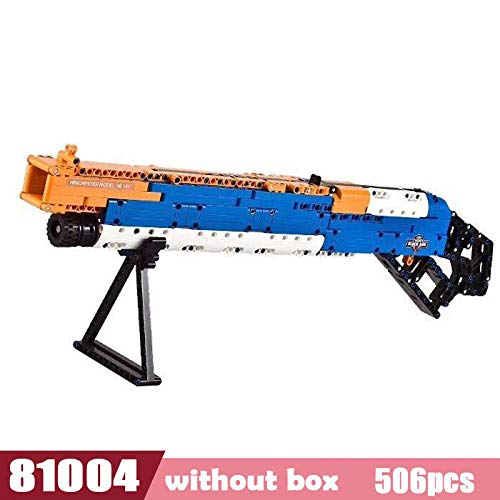 (Sniper Rifle Compatible Legoed Bricks Guns Military Weapon Pack Lot Blocks Model Building Kits WW2 M4A1 M16 Kids Toys Gifts C81004-N)