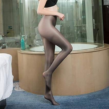 Women in shiny pantyhose