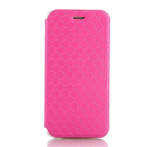 iPhone 6 Hülle,Apple iPhone 6 Hülle (4.7 Zoll) Lifetrut®[Rose] Flip Case mit lebenslanger Garantie + Kartenfächern & Standfunktion