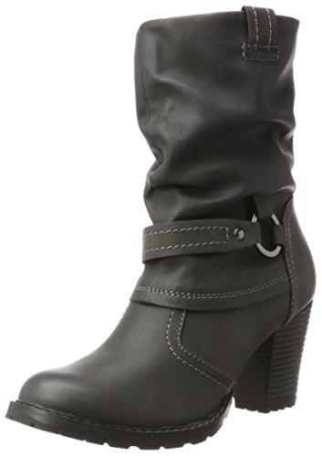 Tamaris Ladies 25394 Boots Black (nero / Anthra)