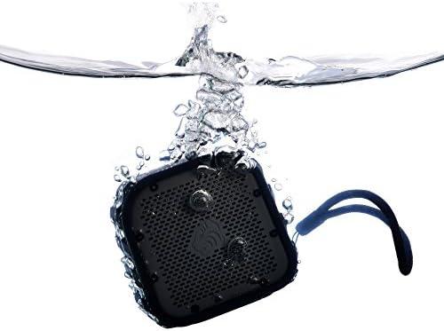 TimoLabs TM-BT002-2016C Rugged and Waterproof Bluetooth Speaker, Black