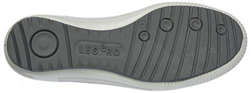 Legero Tanaro - Zapatillas Mujer Gris (Metall Kombi 93)