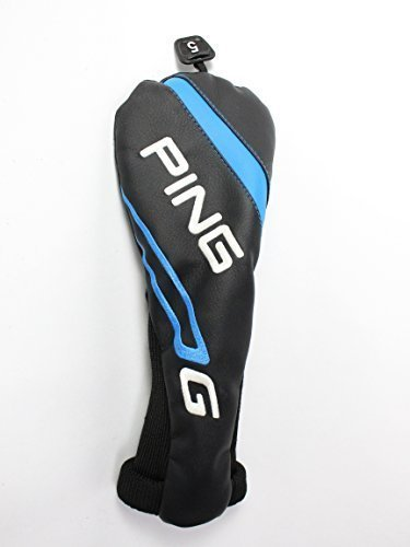 Ping 2016 G Series 5 Fairway Wood headcover Head Cover Black Blue (Ping Golf Headcovers)