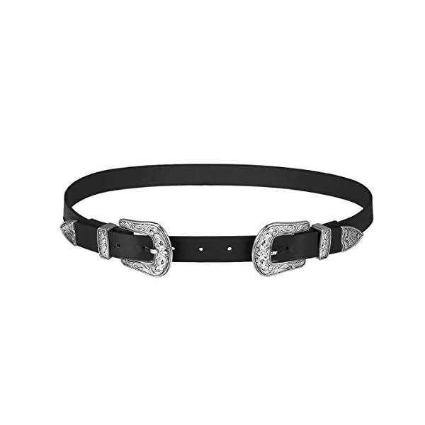 HBF Cintura Donna Elegante Accessori Donna Cintura Cuoio Regolabile Taglia Unica
