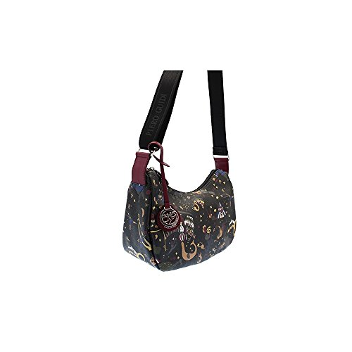 Piero Guidi Hobo shoulder Bag black