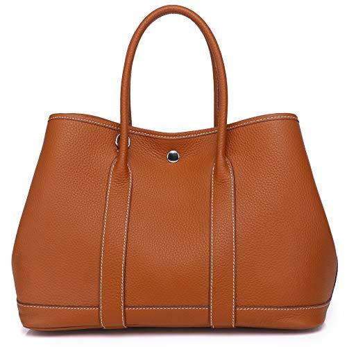 Kueh Women's Genuine Leather Tote Bag Top Handle Handbags