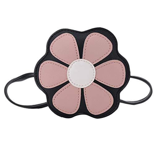 Rose Enfants À Pour Holywin Bandoulière Fleur Messager Mode Portefeuille D'embrayage Belle Sac De Femme Filles Yqqpx61
