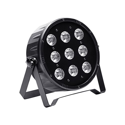 U`King DJ Par Lights for Stage Lighting RGBW with 9 X 10 W LEDs by DMX Controlled for Light Party