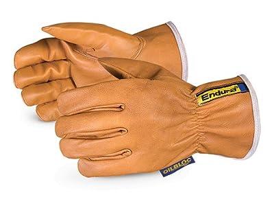 Endura Kevlar-Lined Waterstop/Oilbloc Goat-Grain Drivers Glove