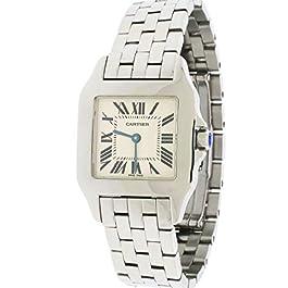 Cartier Santos Demoiselle Steel 26mm Watch W25065Z5 2701 Box Papers