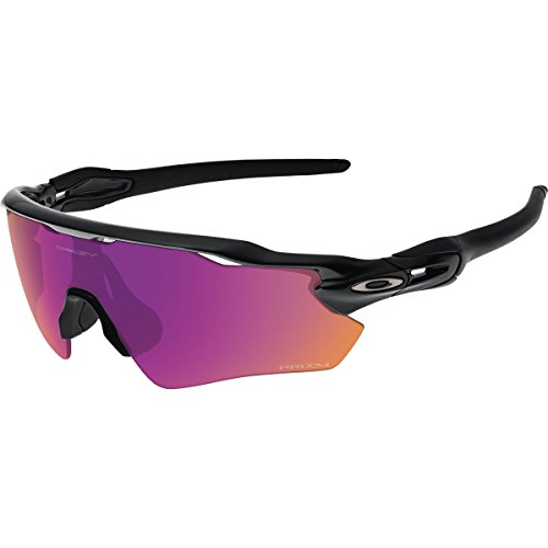 Oakley Men's Prizm Trail Radar EV Path Sunglasses, Polished Black, 138 - Sunglasses Pitch Radar