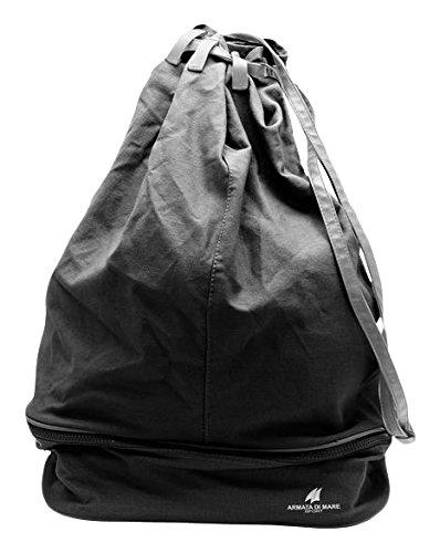 124fb3792b745c ARMATA DI MARE Men's 475 Shoulder Bag Black Size: One size: Amazon ...