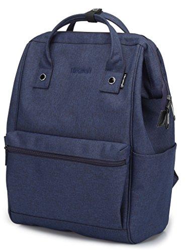 Himawari Travel Backpack Laptop Backpack Large Diaper Bag Doctor Bag Backpack School Backpack for Women&Men (Scrub Blue) by Himawari (Image #2)
