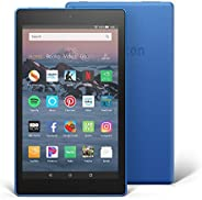 "Certified Refurbished Fire HD 8 Tablet (8"" HD Display, 32 GB) - Blue (Previous Generation -"