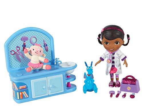 Flair-Leisure-Products-Doctora-Juguetes-5652-Mueca-y-centro-veterinario-mgico-incluye-accesorios