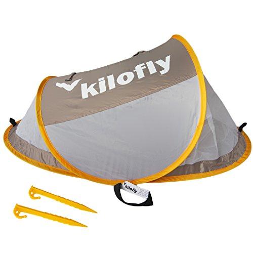 kilofly Original Instant Pop Up Portable UPF 35+ Travel Baby Beach Tent + 2 Pegs from KF baby